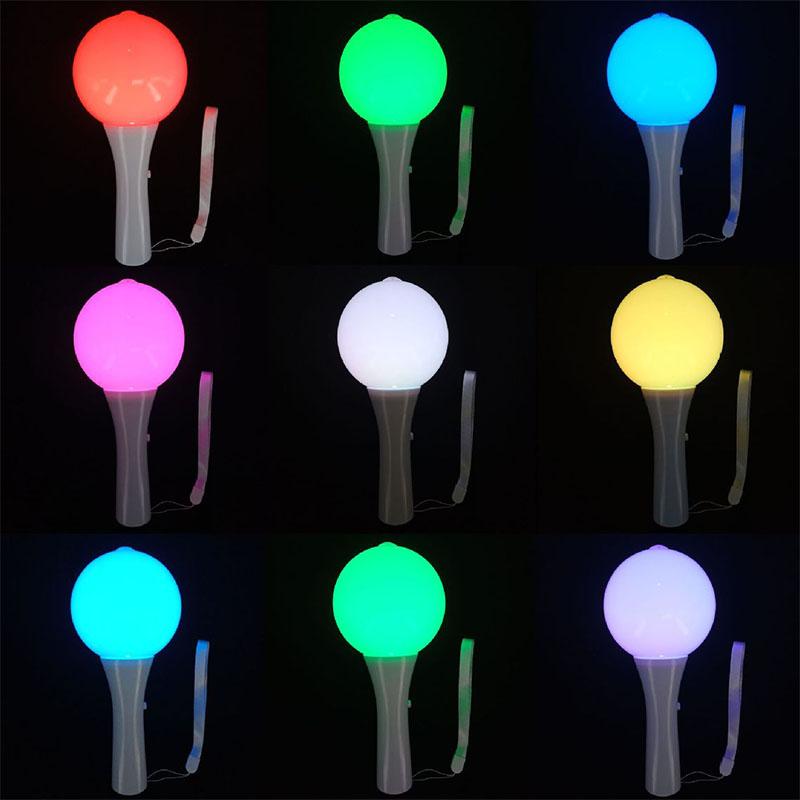 奈竞LED钻石球面演唱会助威发光棒 15光色切换发光棒